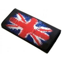 Καπνοσακούλα Δερματίνη London flag