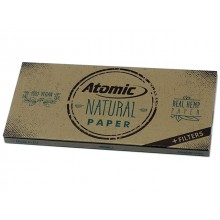 ATOMIC Natural Papers King Size με τζιβάνες 13.5 g/m2