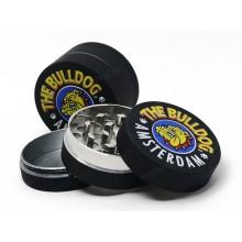 Τρίφτης καπνού THE BULLDOG METAL GRINDER 40mm 3 PARTS BLACK