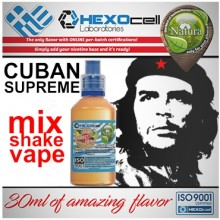 NATURA MIX SHAKE VAPE CUBAN SUPREME 30/60ML (καπνικό)