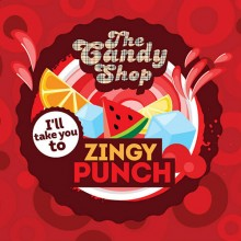 Big Mouth The Candy Shop άρωμα Zingy Punch 10ml