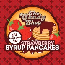 Big Mouth The Candy Shop άρωμα Strawberry Syrup Pancakes 10ml