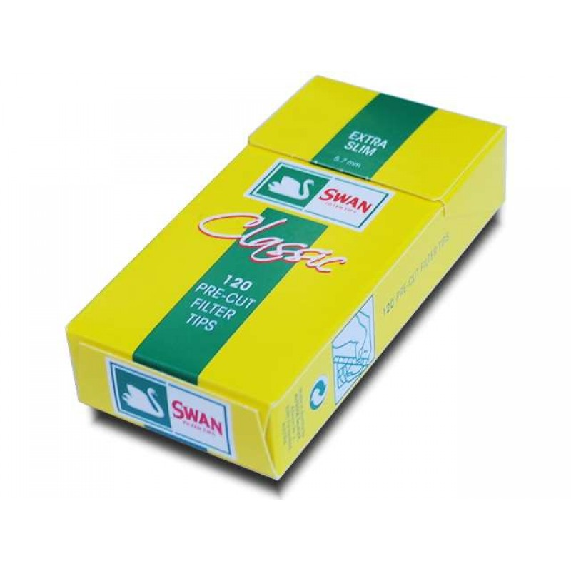 Φιλτράκια Swan Classic Extra Slim 5,7mm 120 τεμ