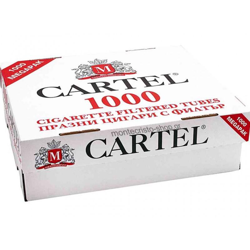 Άδεια τσιγάρα Cartel King Size με 1000 τέμ