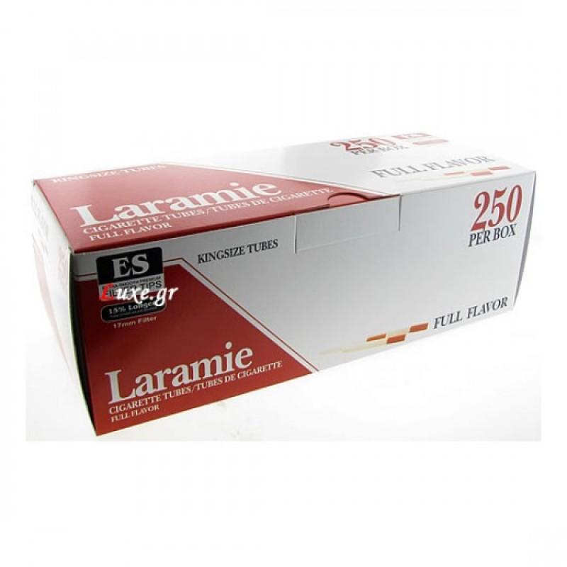 Αδεια τσιγάρα Laramie King Size κουτί των 250 τεμ