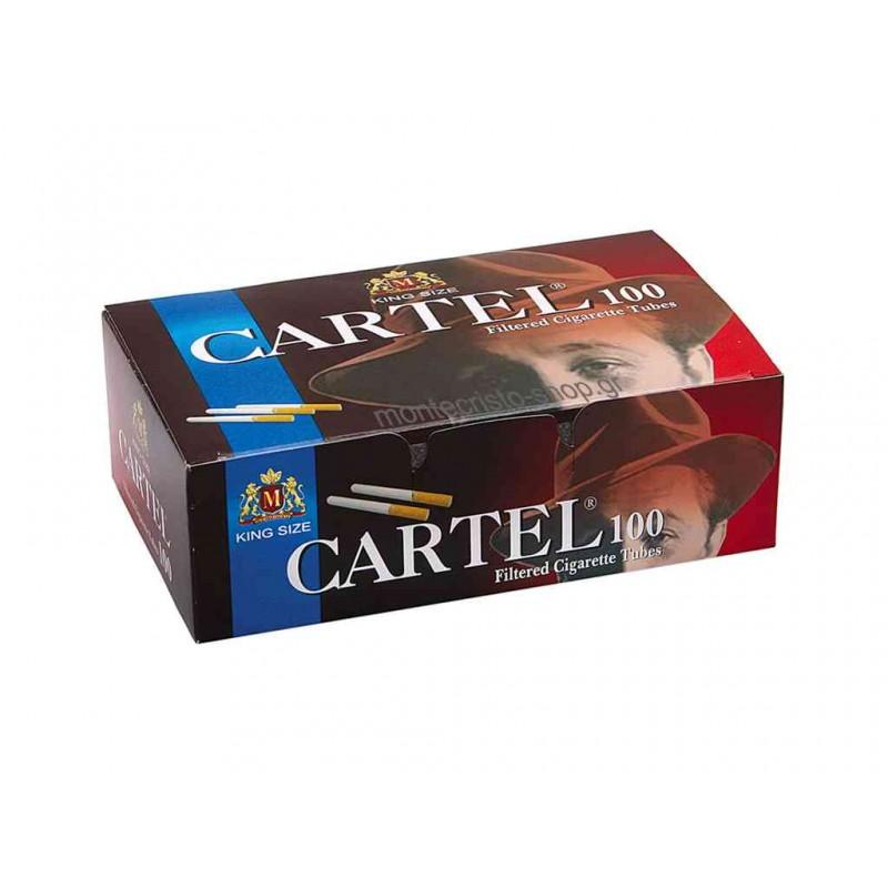 Άδεια τσιγάρα Cartel King Size με 100 τέμ